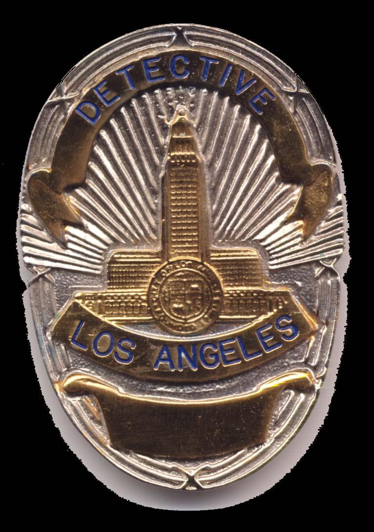 lapd badge